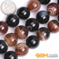 Natural Gemstone Grade AAA Dream Agate Round Beads For Jewelry Making Strand 15""