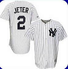 Derek Jeter New York Yankees MLB Majestic Replica Home Jersey NWT 3XL XXXL