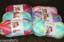 RED HEART SASHAY MINI YARN 3.5 OZ EACH NEW COLORs - perfect for kids scarfs