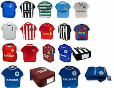 FOOTBALL CLUB  CHILDRENS SCHOOL INFANTS KIDS LUNCH BOX KIT BOY GIRLS SPORTS BAG