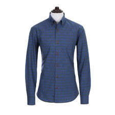 [Hyundai Hmall] THE SHIRTS STUDIO Men's TD12F3390 Blue Check Cotton Shirts Korea