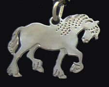 Clydesdale Horse Pendant on a Chain