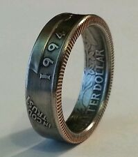 Coin Rings from Quarters (state, territory, and parks quarters) size 5-11