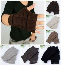 Brand New men's Popular Fashion Fingerless Gloves  Mitten (#STMA)