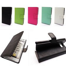 Cool Leather Wallet Card Holder Stand Case Cover for LG Optimus L7 P700 P705