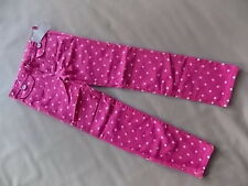 NWT Girl's Gymboree Showers of Flowers pink polka dot adjustable pants ~ 10 12