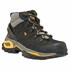 CAT Caterpillar Men Interface Hi/High Steel Toe Black Hiker Boot P89715