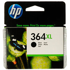 GENUINE OEM HP HEWLETT PACKARD BLACK PHOTOSMART INK CARTRIDGE 364XL (CN684EE)