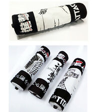 Canvas Scroll pen bag/case for Anime Naruto/One piece/Attack on Titan/Fairy tail