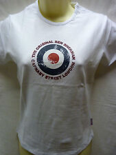 LADIES LIMITED EDITION RETRO BEN SHERMAN TARGET CARNABY STREET T SHIRT UK 10 14