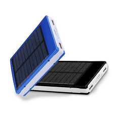 Lots Solar Panel Power Bank USB Charger Backup Battery For Samsung Iphone Mobile