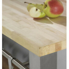 Solid Maple Wooden Kitchen Worktops and Breakfast Bars, A1 Grade Timber
