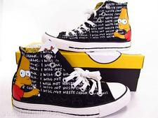 Converse The Simpsons BART CHALKBOARD Chuck Taylor All Star Sneakers 141390C