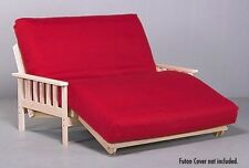 Savannah Futon Lounger Package- Includes Hardwood Frame & Futon Mattress