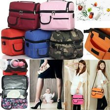 Picnic lunch bag insulated cooler bag ice bag lunch box cool bag Outdoor Picnic