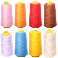 3000 Yard Household Polyester Spool Overlocking Sewing Machine Thread 8 Colors