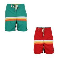 Mens TOKYO LAUNDRY-SOUT SHORE Dip Dye/Retro Vintage Swim Short Board Surf Beach