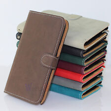 Deluxe Matte Leather Stand Wallet Case Cover For Samsung Galaxy Note 2 II N7100