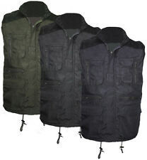 High Mount Mens Coffman Body Warmer Gilet Multi Pockets Work Fishing Travel