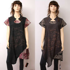 CX078 Women Summer Clothing Casual Dress Long Skirt Fashion Chinese Trend