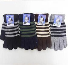 wholesale fashion Warm refers to points refers to knit men stripe gloves