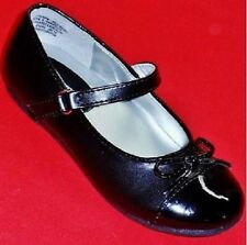 NEW Girl's Toddler's SONOMA LIL CLARA Black Bow Mary Jane Fashion Dress Shoes