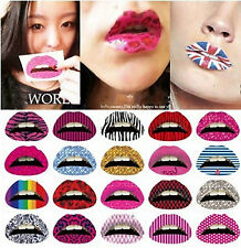Hot Women Sexy Fancy Dress Lip Sticker Temporary Lips Tattoo Lipstick Art Party