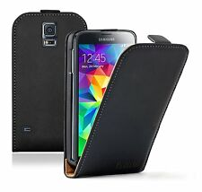 ULTRA SLIM Leather Flip Case Cover Pouch for Samsung Galaxy S5 SM-G900 SM-G900F