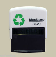 Custom Rubber Stamp Self Inking - 46x16mm - Personalised with your Logo & Text