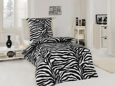 Microfaser Bettwäsche Garnituren Zebra African Dream 135x200 / 155x220 / 200x200