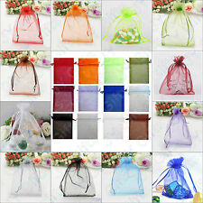 15pcs Organza Drawstring Wedding Bridal/Baby Shower Gift Party Jewlery Pouch Bag