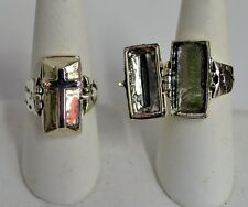 925 Sterling Silver Coffin Poison Ring Sizes  6.5/ 7/ 7.5/ 8/ 9/ 10/ 11