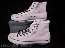 Converse John Varvatos Double Zip Hi Suede Leather Sneaker OFF WHITE 137430C