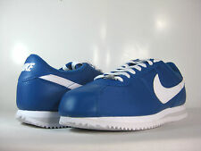 NIKE CORTEZ BASIC NYLON Military Blue/White-Pure Plat -476716 404-  ATHLETIC