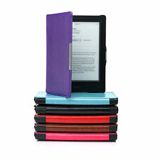 Ultra Thin Smart Pu Leather Case Cover With Wake/sleep Support For Kobo Aura Hd