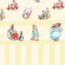 Dolls House Wallpaper 1/12th 1/24th scale Nursery  Quality Paper #136