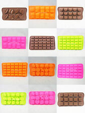 Silicone Bakeware Jelly Chocolate / Cake Topper / Cookie Mould  DIY Soap Mold