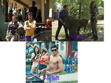 Bad Neighbours Set Of SIGNED AUTOGRAPH 10X8 REPRO PHOTO PRINT Rogan Efron Byrne