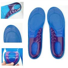 Massaging Gel Insoles Plantar fasciitis treatment Heel Pain shock absorption