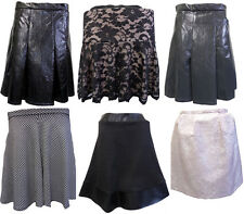 Womens Ladies New Varied Short Skater Stylish Skirt (Sizes 6-18) SPEICAL OFFER!!