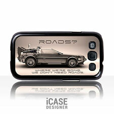 DeLorean Back to the Future Car Phone Case Cover for Galaxy S2 S3 S4 S5 Note 2 3