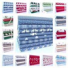 CHRISTMAS FABRIC BUNDLES 100% COTTON SCANDI NORDIC RETRO bundle fat quarter