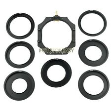 """Metal Adapter Ring & 100mm Filter Holder for Lee Hitech Cokin Z PRO 4X4""""/5.65""""/5"""