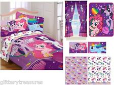 KIDS GIRLS MY LITTLE PONY BEDDING BED IN A BAG / COMFORTER SET