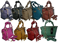 Ladies Small Leather Handbag Faux Soft Leather Womens Evening Hand Bags Bag Q331