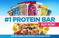 Quest Nutrition Bars Low Carb Natural Protein Quest Bars 12 Bars ALL FLAVORS !!