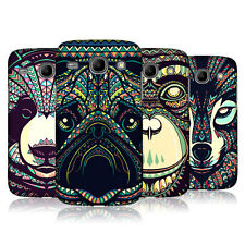 HEAD CASE AZTEC ANIMAL FACES 3 BACK CASE FOR SAMSUNG GALAXY CORE I8260 I8262