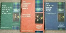 Learn to play the Highland Bagpipes with College of Piping Tutor Books