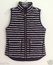 J. Crew Excursion Quilted Puffer Vest In Stripe NWT Size: XS, S, M, L, XL