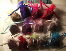 Dried Flowers Rose and More Biodegradable Confetti/Small Organza Bags  (3)